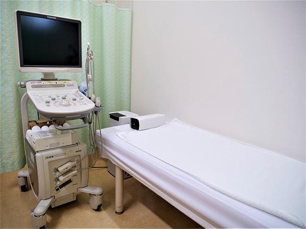 画像:超音波診断装置